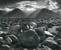 "Ansel Adams, Mt. Williamson, Sierra Nevada, from Manzanar, California, 1944, printed early 1950s, 16"" x 20"""