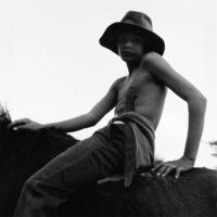 "Monica Denevan, Red Earth, Cuba, 2003, 15"" x 15"""