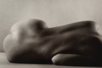 "Ruth Bernhard - Curvilineal, 1971, Gelatin Silver Print, 5"" x 8"""