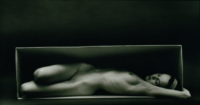"Ruth Bernhard, In The Box, Horizontal, 1962, Gelatin Silver Print, 7-1/2"" x 13-1/2"""