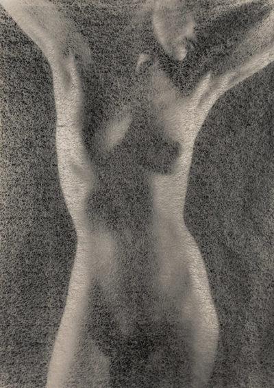 "Ruth Bernhard, Rice Paper, 1969, Gelatin Silver Print, 20"" x 16"""