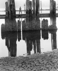 """Wynn Bullock, Boy Fishing, 1959, 10"""" x 8"""""""