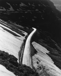 "Paul Caponigro, Glacier National Park, Montana, 1959, 10"" x 8"""