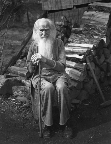 """Imogen Cunningham, My Father at 90, 1936, printed c1970, 10"""" x 8"""", signed"""