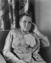 """Imogen Cunningham, Gertrude Stein, 1937, printed 1970, 10"""" x 8"""", signed"""