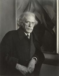 "Imogen Cunningham, Alfred Stieglitz, 1934, printed 1973, 10"" x 8"", signed"
