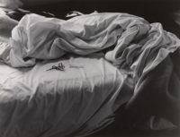 "Imogen Cunningham, The Unmade Bed, 1958, vintage print, 11"" x 14"", signed"