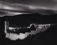 "Brett Weston, Graveyard, Spain. 1960, Vintage gelatin silver print, 7-1/2"" x 9-1/2"""
