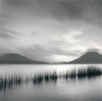 "Rolfe Horn, Lake Atitlan Study 4, Guatemala, 2019, 10"" x 10"""
