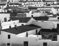 "Brett Weston, Rooftops, Portugal, 1960/1975, Gelatin silver print, 7-1/2"" x 9-1/2"""