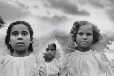 Sebastiao Salgado, Three Communion Girls, Brazil, 1981