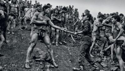Sebastiao Salgado, Military Police Patrolling the Gold Mine of Sierra Pelada, State of Para, Brazil, 1986