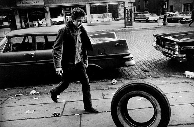 Jim Marshall, Bob Dylan, NYC, 1963