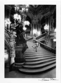 Loomis Dean, Gene Kelly, Paris Opera Stairs, c1960