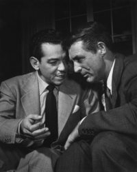 Philippe Halsman, Centifias and Cary Grant, 1949