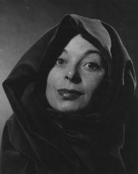 Philippe Halsmann, Siobhan McKenna, 1956
