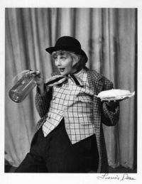 Loomis Dean, Lucille Ball with a Pie and Seltzer Water