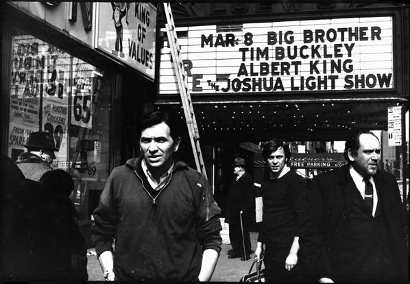 Linda McCartney, Bill Graham, Opening Night, Fillmore East, NYC, 1968