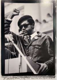 """Michael Zagaris, Bobby Seale, """"Power to the People"""", 1968"""