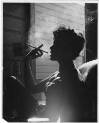 Loomis Dean, Rita Moreno Smoking, 1954