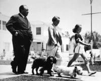 Peter Stackpole, Alfred Hitchcock with Family, c1940s