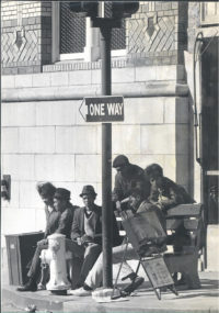 Anonymous, Group Sitting at Clay Street, San Francisco, c1932