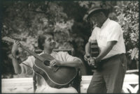 Elizabeth Cotton and Mississippi John Hurt, 1964