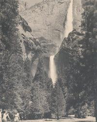 Ansel Adams, Upper and Lower Yosemite Falls, Summer, c1939