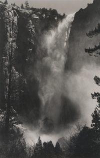 Ansel Adams, Bridal Veil Fall, Yosemite Valley, California, c1927