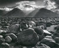 Ansel Adams, Mount Williamson Sierra Nevada from Manzanar, California 1944