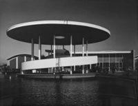 Ansel Adams, The Rotunda, Paul Masson Vineyards, 1959