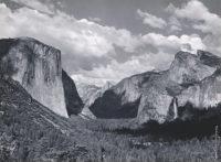 Ansel Adams, Yosemite Valley, Summer, 1936
