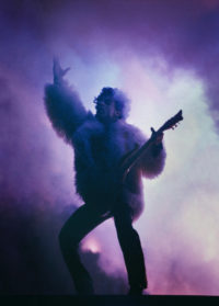 Joel Bernstein, Prince with Purple Clouds, 1987