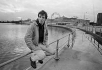 Joel Bernstein, Bruce Springsteen, Palace Amusements and Ferris Wheel, 1979