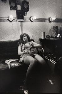 Janis Joplin Backstage at Winterland, 1968