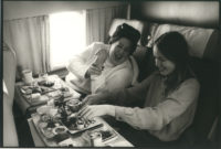 Mama Cass and Michelle Phillips