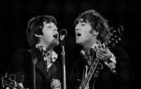 Paul McCartney and John Lennon, 1990