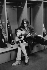 Neil Young, Backstage at the Spectrum, 1970
