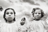 Sebastiao Salgado, 3 Communion Girls, Brazil, 1981