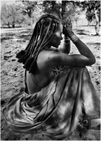 Sebastiao Salgado, Himba Woman in Orutanda, 2005
