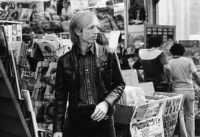 Tom Petty in Record Store, LA, 1981