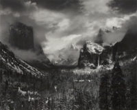 Ansel Adams, Clearing Winter Storm, Yosemite California, 1942