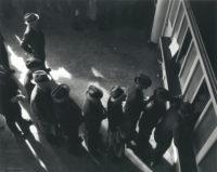 Dorothea Lange, Unemployment Line, 1939