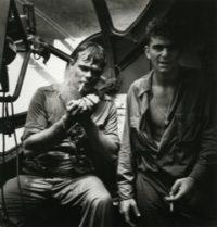 Rescue at Rabaul, Airmen Smoking, 1944