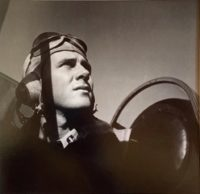 Pilot in Cockpit of Plane (Brinks Bass) 1942
