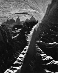 William Garnett, Dry Wash with Alluvium, Death Valley California, 1957