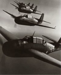 Planes in Formation, 1942