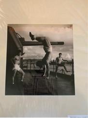 Exercise on Seaplane Tender, 1944