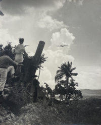 Anonymous, Fighter Planes and Anti-Aircraft Gun, Philippines, c1944