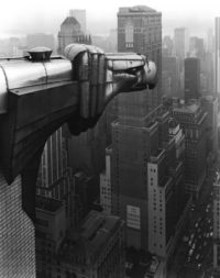 George Tice, From the Chrysler Building, New York, 1979